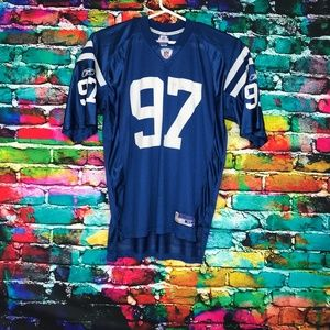 NY NEW YORK GIANTS Simon #97 REEBOK Jersey Mesh XL